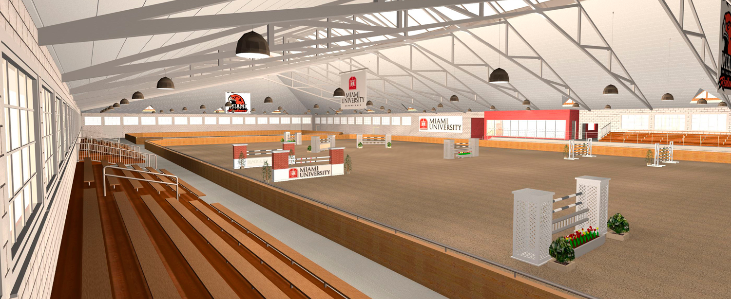Miami University Equestrian Center Blackburn Architects