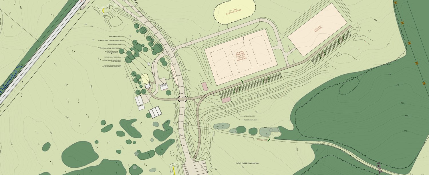 Woodstock Equestrian Park Blackburn Architects P C