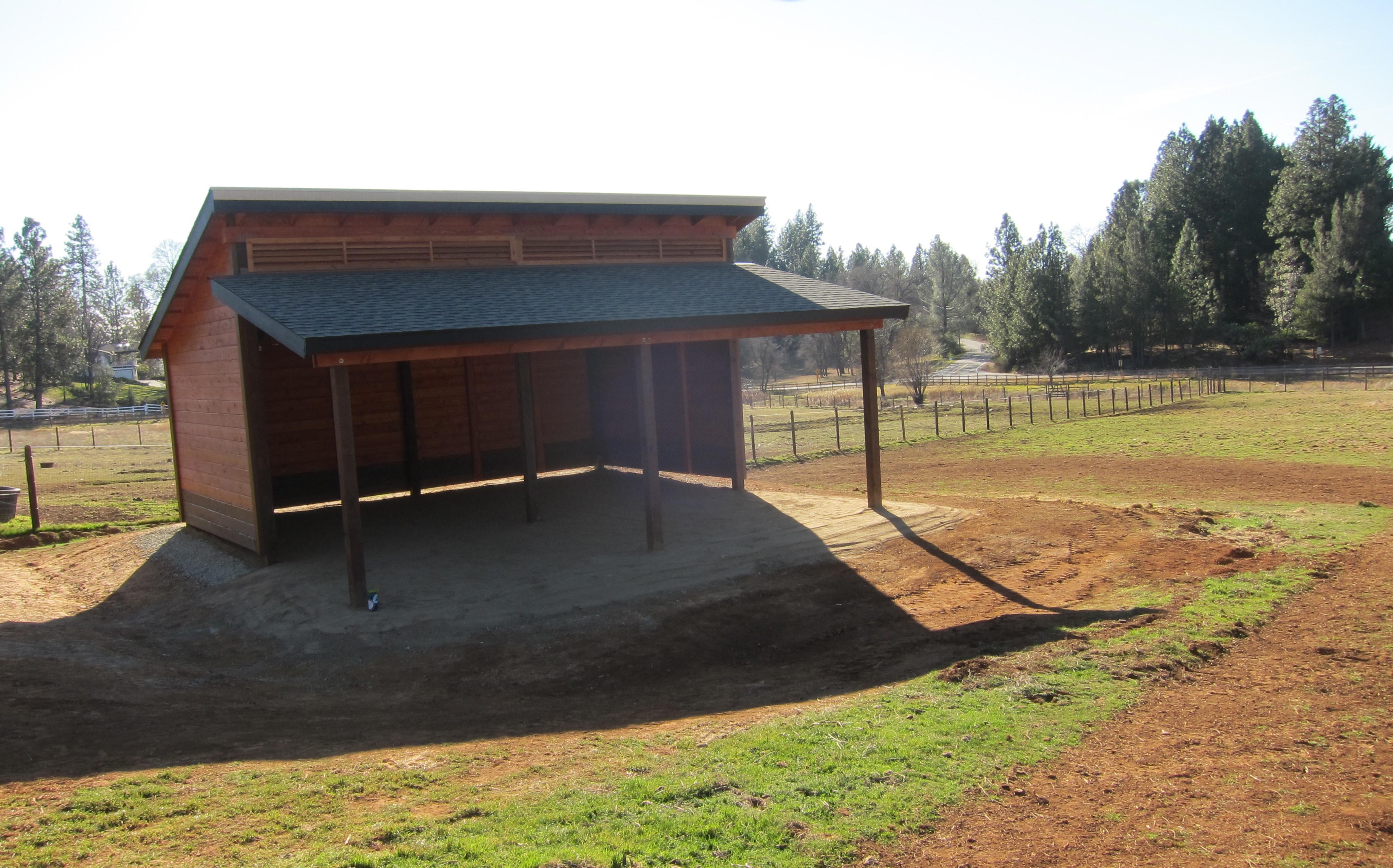 Horse Barns Do It Yourself : Diy horse shelter ideas do it your self