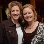 Head of the therapy center, Cathy Coleman, (left) and the NVTRP's Executive Director, Bree Bornhorst, (right).