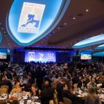 Over 800 people attended the dinner - the largest attendance ever