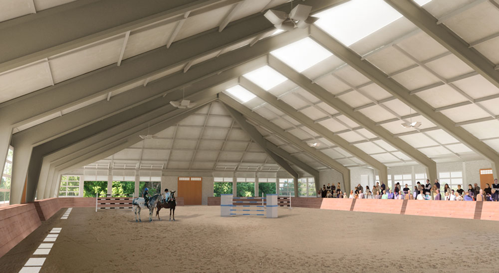 Woodstock Equestrian Center Blackburn Architects P C