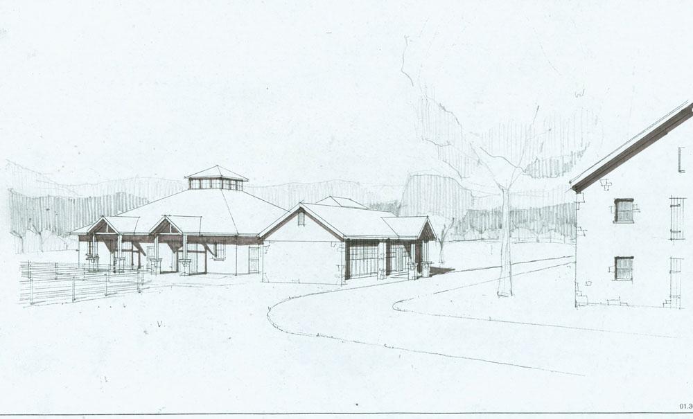 Maryland Stallion Station Blackburn Architects P C